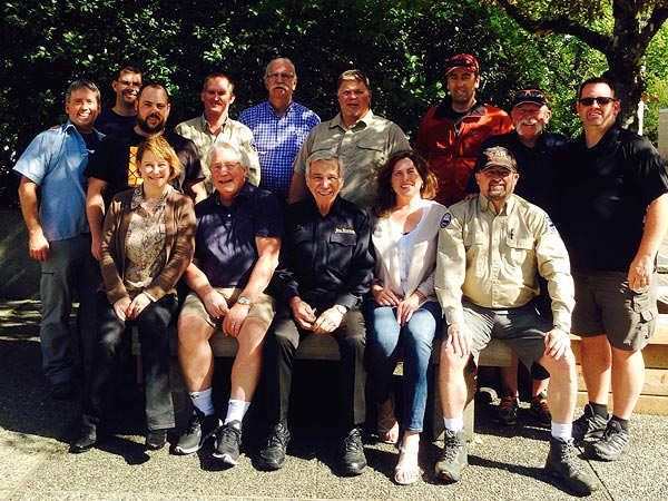 BCSARA Executive and Instructors, September 12-13, 2015, Chilliwack, BC