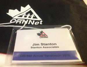 Jim Stanton CRHNet Badge