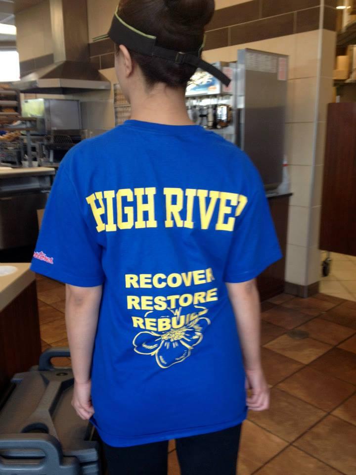 High River - Recover, Restore, Bebuild
